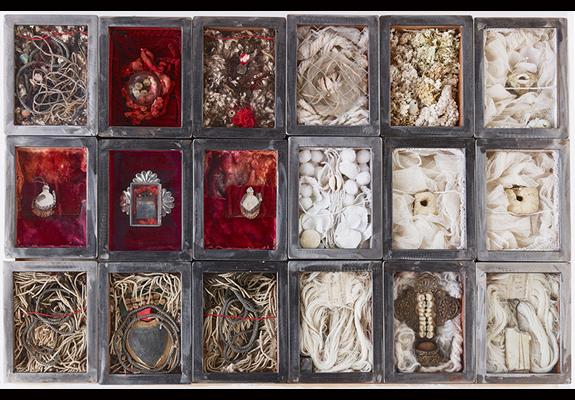 Collecteurs de mémoire expo Paula Anke photo